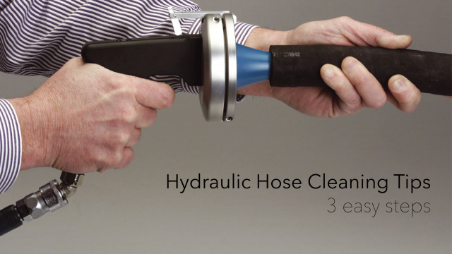 Hydraulic Hose assembly cleaning