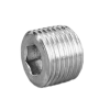 Hexagon Socket Plug BSPT | Hydraulic Adapters | Centre Point Hydraulic