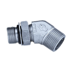 ORFS BSP 45° Elbow Adapters Supplier in Dubai | Centre Point Hydraulic