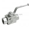 BSP Female High Pressure Ball Valve
