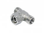 DIN Swivel Nut Branch Tee Adapter Supplier | Centre Point Hydraulic