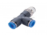 BSP Male Run Tee Pneumatic Fittings Supplier | Centre Point Hydraulic
