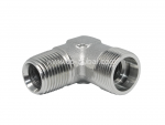 DIN to NPT Male Stud Elbow Adapter Supplier | Centre Point Hydraulic