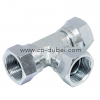 BSP Swivel Nut Tee | Hydraulic Adapters | Centre Point Hydraulic
