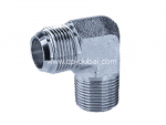 JIC to NPT Male Elbow Adapters Supplier in Dubai | Centre Point Hydraulic