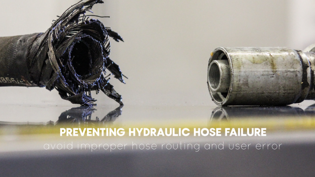 Preventing Hydraulic Hose Failure | Blog | Centre Point Hydraulic