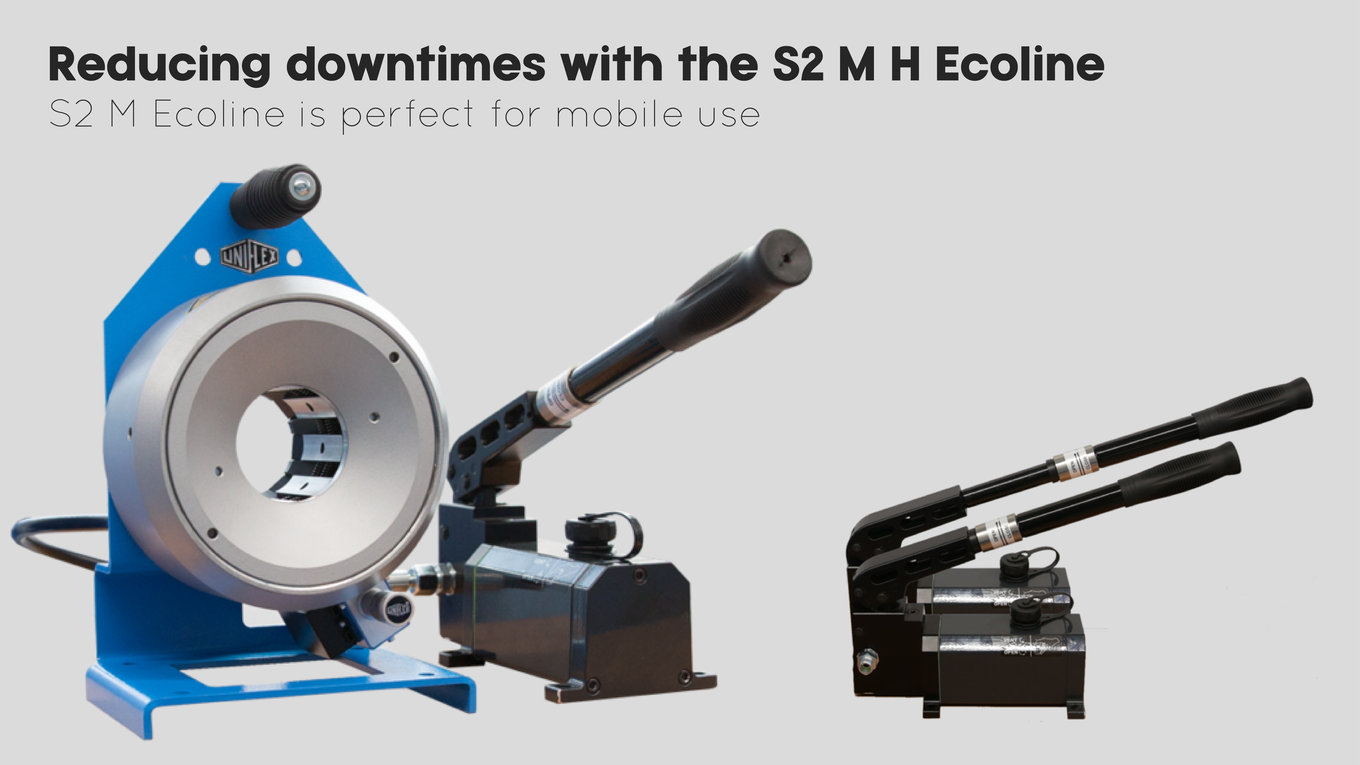 Reducing downtimes with Uniflex S2 M H Ecoline | Centre Point Hydraulic